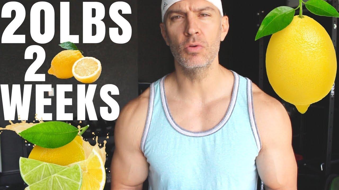 Lemon Water Diet | 20lbs In 2 Weeks