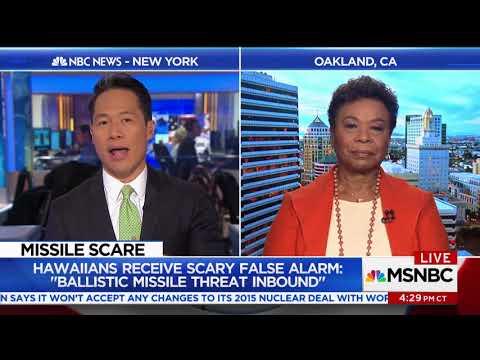 Rep Lee Joins Richard Lui on MSNBC on MLK Weekend