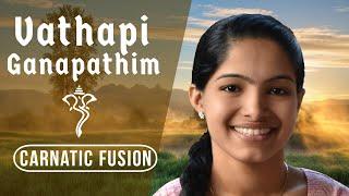 Vathapi Ganapathim Carnatic Fusion - Vijay Madhur ft Shreevani Kakunje