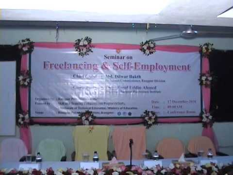 video:Freelancing for Self-Employmeny