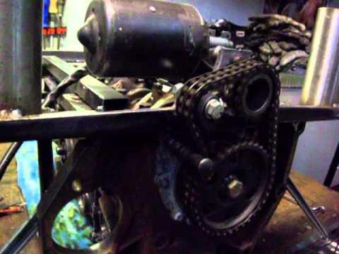 Audi 5 Zylinder Motorblock Wohnzimmertisch Teil2