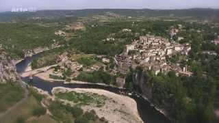 Ardèche vue du ciel -