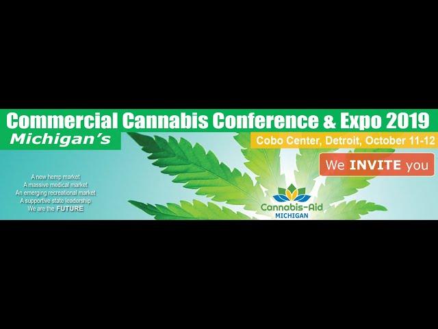 Cannabis-Aid Conference Oct. 11-12 Detroit TCF Center