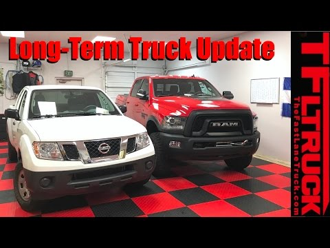 Live From Boulder, CO: TFLtoday: Long-Term Truck Update: 2017 Nissan Frontier & Ram Power Wagon