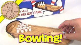Mini Wood Bowling Game, Fun Services