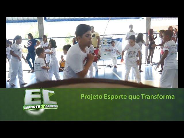 Projeto Esporte que Transforma promove festival de Capoeira
