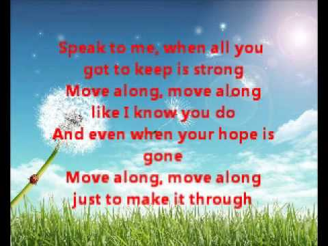 All American Rejects Move Along Lyrics