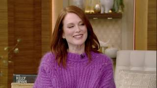 Julianne Moore Talks About Becoming an Empty Nester Soon