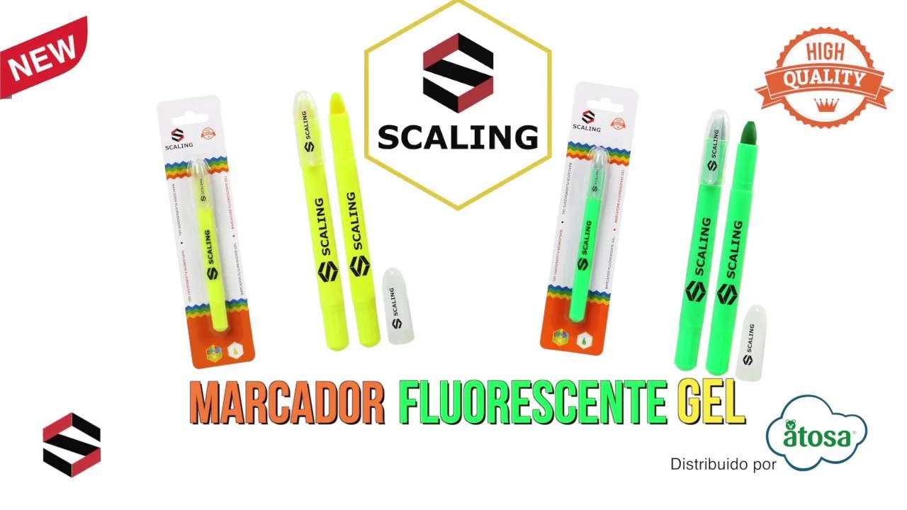 Staedtler 232163 color amarillo Rotulador fluorescente gel