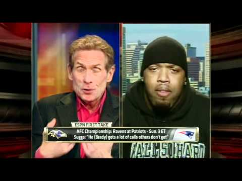 NFL: Terrell Suggs takes on skip