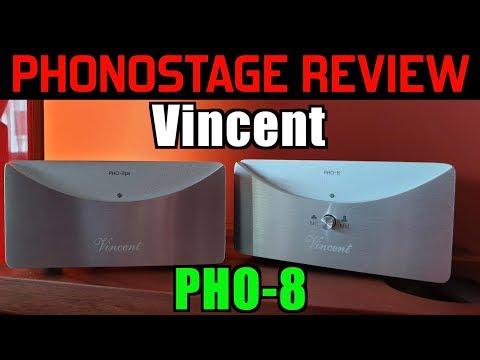 Vincent PHO-8 - review, and shoot-out vs MoFi StudioPhono