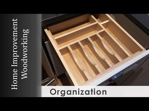 Drawer Organizer Build for Kitchen Makeover