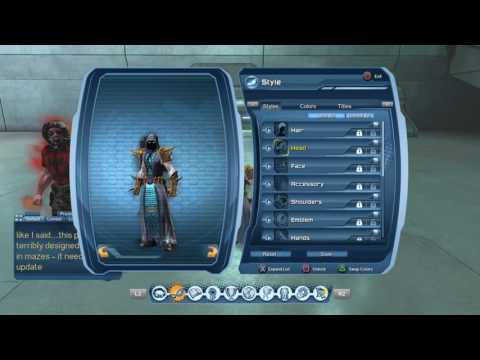 DCUO Styles! (Fury) How to make the BEST Fury Style! 2 Outfits!