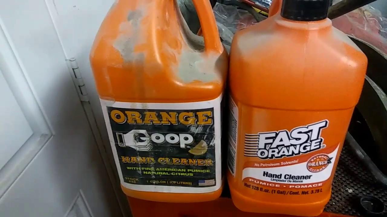 harbor freight must haves orange goop vs fast orange youtube