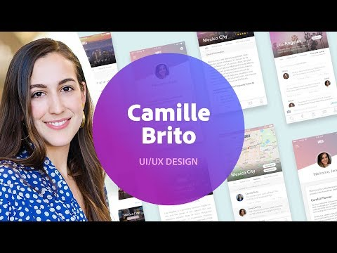 Designing a Mobile App with Camille Brito - 1 of 3