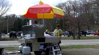 Hot Dog Mary's Stand Hotdogs Cart Hopedale Milford Ma