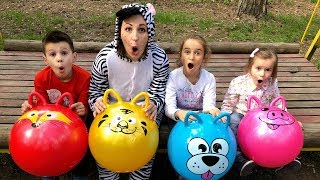 Baixar Learn Ball Colors with ZEBRA and Kids Educational Videos Good Song for Kids JoyJoy Lika