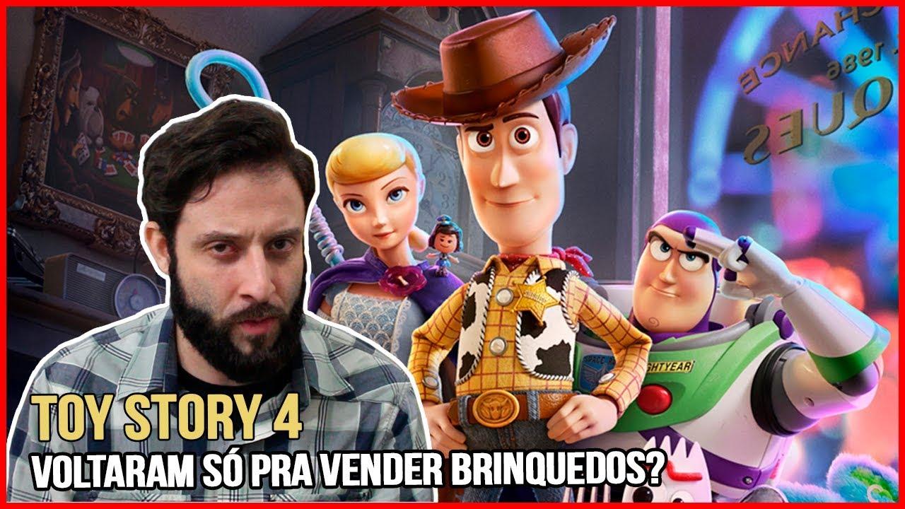TOY STORY 4 | PRECISAMOS DE MAIS UM TOY STORY? | Análise sem spoilers