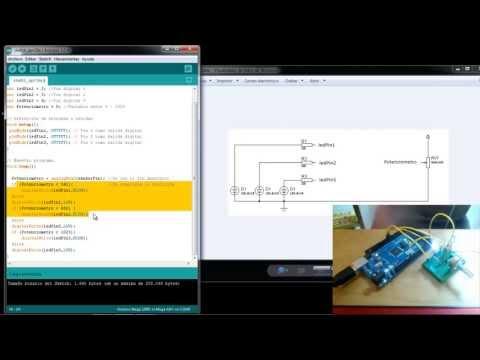 Programa Con Arduino Usando: PinMode, DigitalWrite Y AnalogRead - Tutorial 1