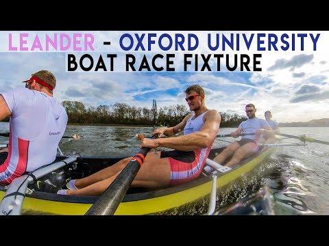 LEANDER VS OXFORD UNIVERSITY | PRE BOAT RACE FIXTURE