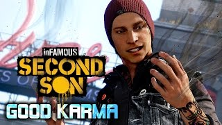 Infamous: Second Son ★ The Movie / All Cutscenes Only (Good Karma Edition) 1080p HD