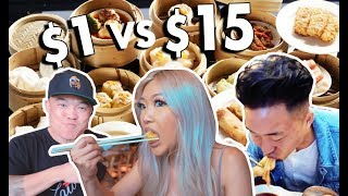 $1 vs $15 DIM SUM in NYC // LoMidHi Ep. 2 Video