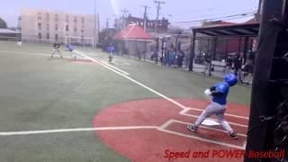 Speed Kills in Baseball : Little League Video