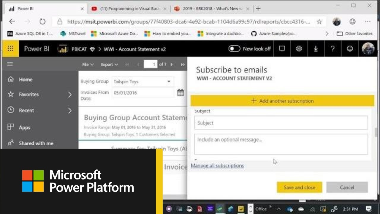 Microsoft Power BI: What's new in Paginated Reports - BRK2018