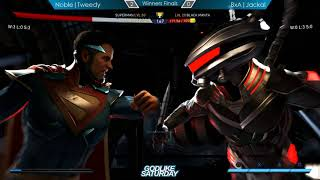 Injustice 2 Top 4 - Godlike Saturday, Midwest Monthly [1080p/60fps]