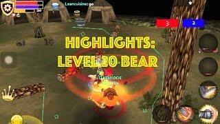 Pocket Legends PvP: Level 20 Bear HIGHLIGHTS #1 [1080p HD GAMEPLAY]