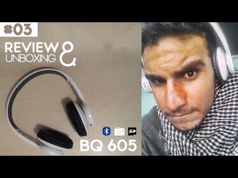BQ - 605 Wireless Headphone سماعات بلوتوث | GearBest Unboxing #3