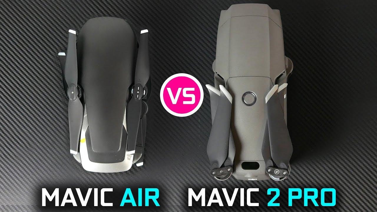 Dji Mavic 2 Pro Vs Mavic Air Ultimate Drone Battle Youtube