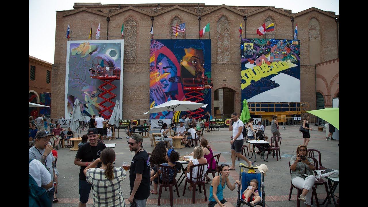 MEETING OF STYLES FRANCE 2018 - Official Aftermovie   Festival International de Graffiti
