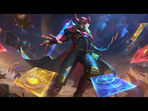 Odyssey Twisted Fate Full Gameplay PBE