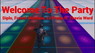 Welcome to the Party (Deadpool 2 Soundtrack) - Fortnite Music Blocks (SHORT SONG)