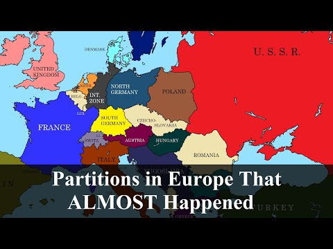 Partitions in Europe
