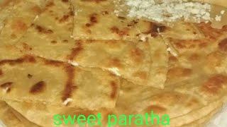 एक बार बनाएगे तो अक्सर बनाना पसंद करेगे  Paneer #Sweet# Paratha #yummy #recipe# from #easy _cooking#