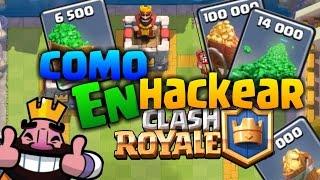 El Mejor Hack De Clash Royale!!! (100%) 2016
