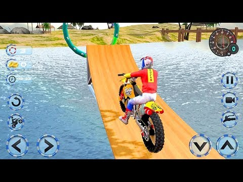 Real Water Surfer BikeRacing Floating Drive (by Titan Game Productions) Android Gameplay [HD]