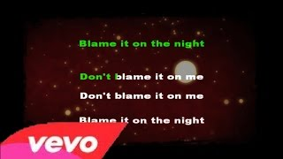 Calvin Harris feat John Newman blame karaoke