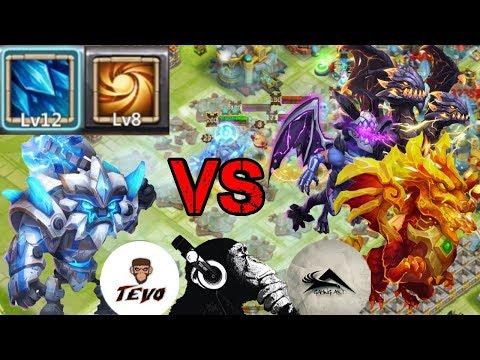 Sasquatch | Sacred Light | Vs 15 Beasts | Castle Clash