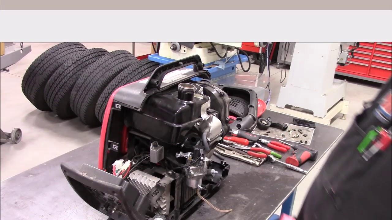 portable 2000 watt generator tune up and carburetor cleaning [ 1280 x 720 Pixel ]