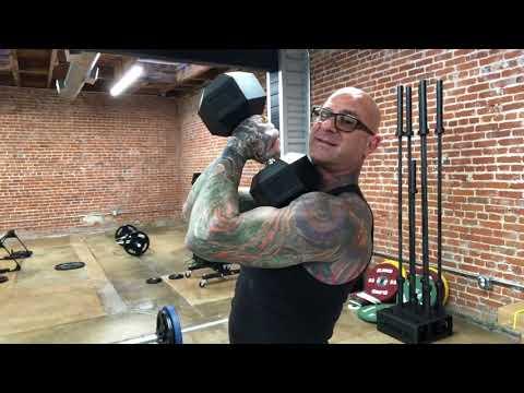 Dumbbell Overhead Triceps Tips