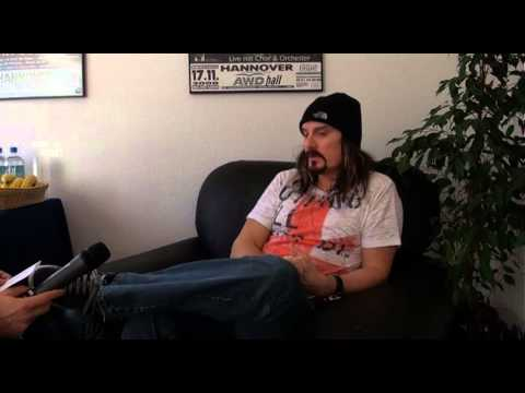 Dream Theater Interview James LaBrie, Hannover 9.2.2014