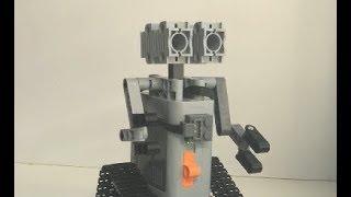 робот Валли из лего техник (самоделка)