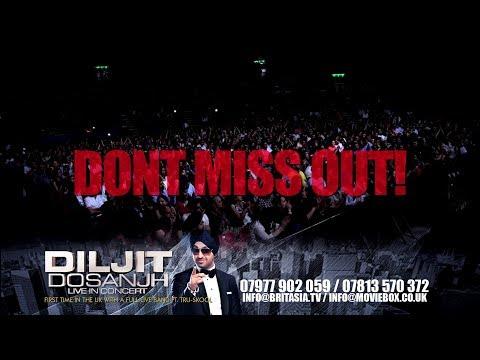 DILJIT DOSANJH - LIVE IN CONCERT 2014 - UK TOUR