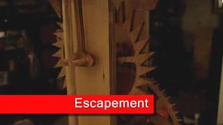"""Wooden Gear Clock - """"ascent"""""""