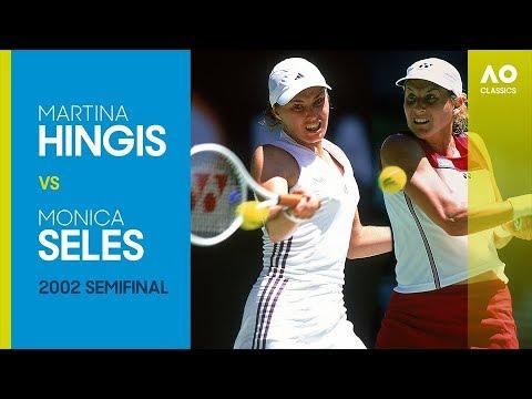 AO Classics: Martina Hingis V Monica Seles (2002 SF)