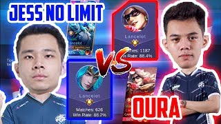 JESS NO LIMIT VS OURA!! TOP 1 LANCE VS TOP 1 LANCE!!  - Mobile Legends