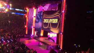 WWE Main Event: 3/22/16 Main Event Intro, Zack Ryder and StarDust Entrances.